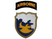 18TH AIRBORNE DIVISION PATCH WITH FLAP PATCH