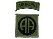 82ND AIRBORNE DIVISION PATCH TYPE A2