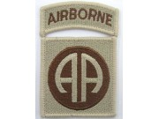 82ND AIRBORNE DIVISION PATCH TYPE A3