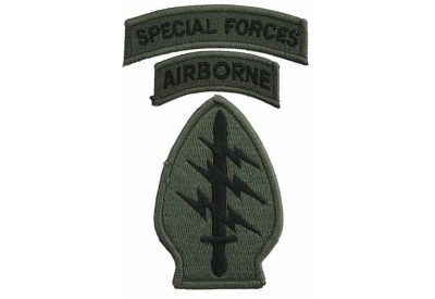 ACU SPECIAL FORCES AIRBORNE WT TAB PATCH #06