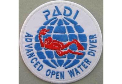 "PADI SCUBA - ADVANCED OPEN WATER DIVER PATCH 3"""