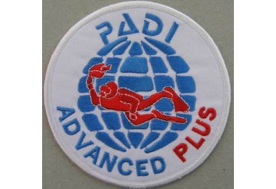 PADI SCUBA - ADVANCED PLUS PATCH 4""
