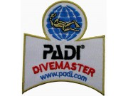 PADI SCUBA - DIVEMASTER SHOULDER PATCH
