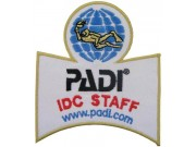 PADI SCUBA - IDC STAFF SHOULDER PATCH
