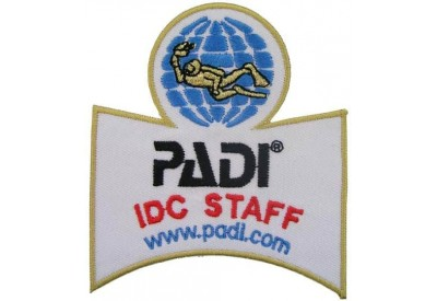 PADI SCUBA - IDC STAFF SHOULDER PATCH
