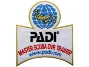 PADI SCUBA - MASTER SCUBA DIVER TRAINER SHOULDER PATCH