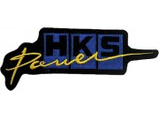 HKS POWER RACING SPORT EMBROIDERED PATCH #03