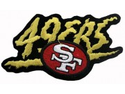 NFL SAN FRANCISCO FOOTBALL IRON ON EMBROIDERED PATCH #02