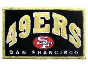 NFL SAN FRANCISCO FOOTBALL IRON ON EMBROIDERED PATCH #03
