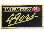 NFL SAN FRANCISCO FOOTBALL IRON ON EMBROIDERED PATCH #08