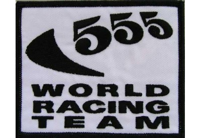557 WORLD RACING SPORT EMBROIDERED PATCH #03