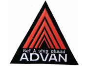ADVAN RACING TEAM EMBROIDERED PATCH #01