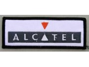 ALCATEL MOBILE IRON ON EMBROIDERED PATCH