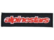 ALPINESTARS RACING SPORT EMBROIDERED PATCH #01