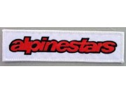 ALPINESTARS RACING SPORT EMBROIDERED PATCH #02