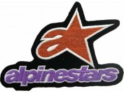 ALPINESTARS RACING SPORT EMBROIDERED PATCH #08