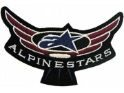 ALPINESTARS RACING SPORT EMBROIDERED PATCH #09