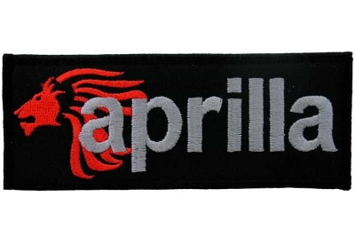 APRILLIA SUPERBIKE BIKER EMBROIDERED PATCH #14