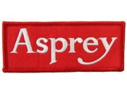 ASPREY TEAM RACING MOTORSPORT EMBROIDERED PATCH