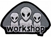 ALIEN WORKSHOP SKATE BOARD PATCH #02
