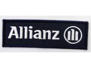 ALLIANZ IRON ON EMBROIDERED PATCH