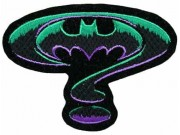 BATMAN COMIC IRON ON EMBROIDERED PATCH #01