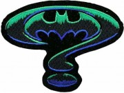 BATMAN COMIC IRON ON EMBROIDERED PATCH #02
