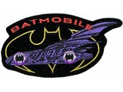 BATMAN COMIC IRON ON EMBROIDERED PATCH #03