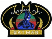 BATMAN COMIC IRON ON EMBROIDERED PATCH #06