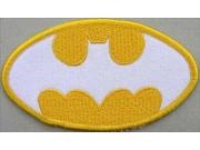BATMAN COMIC IRON ON EMBROIDERED PATCH #09
