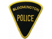 BLOOMINGTON POLICE PATCH