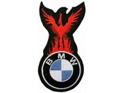 BMW FIRE FRAME RACING EMBROIDERED PATCH #12