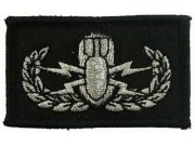 US ARMY BOMB SQUAD EMBROIDERED PATCH #01