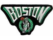 NBA BOSTON CELTICS BASKETBALL EMBROIDERED PATCH #06