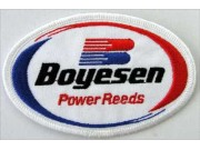 BOYESEN POWER REEDS RACING SPORT EMBROIDERED PATCH