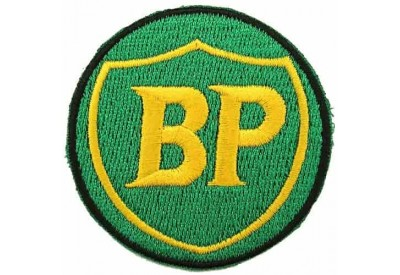 BPOIL RACING SPORT EMBROIDERED PATCH #01