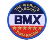 BMXB CYCLING SPORT IRON ON EMBROIDERED PATCH