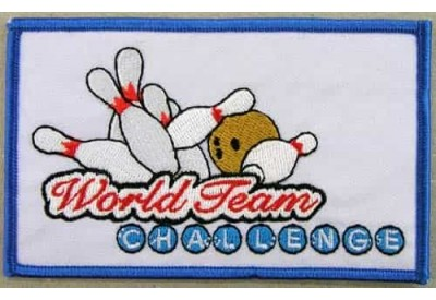 MALAYSIA BOWLING IRON ON EMBROIDERED PATCH #02