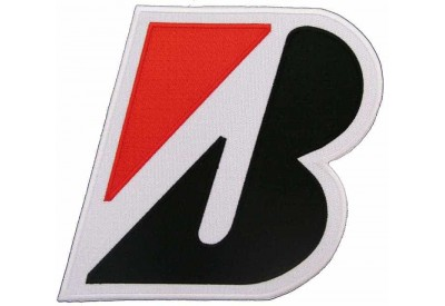 GIANT BRIDGESTONE RACING EMBROIDERED PATCH (P1)