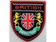 British Racing Team Shield Embroidered Patch #02