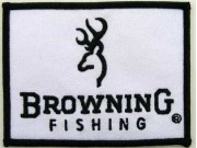 BROWNING FISHING EMBROIDERED PATCH #01