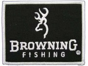 BROWNING FISHING EMBROIDERED PATCH #02
