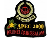 BRUNEI POLICE PATCH
