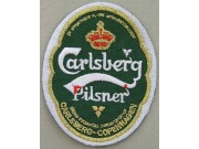 CARLSBERG BEER IRON ON EMBROIDERED PATCH #10