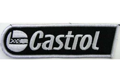 CASTROL OIL RACING SPORT EMBROIDERED PATCH #01