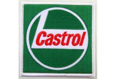 CASTROL OIL RACING SPORT EMBROIDERED PATCH #12