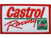 CASTROL OIL RACING SPORT EMBROIDERED PATCH #16