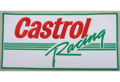 GIANT CASTROL OIL RACING PATCH (P)