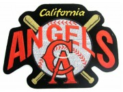 GIANT MLB CALIFORNIA ANGELS EMBROIDERED PATCH (P1)