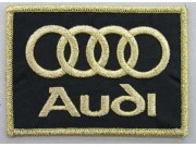 AUDI AUTOMOBILE IRON ON EMBROIDERED PATCH #01